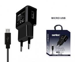 Зарядний пристрій Sertec STC-H2 USB CHARGER 2.1A