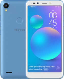 Смартфон Tecno POP 1s pro (F4 pro) Blue + карта памяти Kingston MicroSDHC 32GB Class 10 в подарок