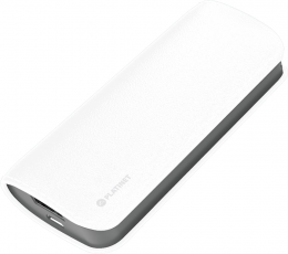 Зовнішній акумулятор Platinet leather 5200 mAh White (PMPB52LW)