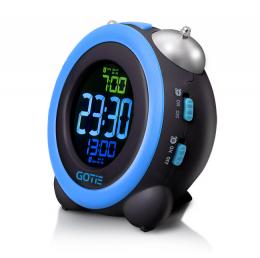 Електронний будильник GOTIE GBE-300N синій