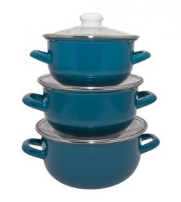 Набор кастрюль Infinity Blue 6588659 (6 предметов)