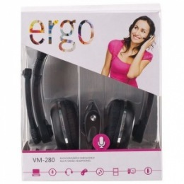 Навушники Ergo VM-280 Black