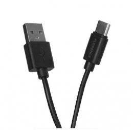 USB кабель Florence Type-C 1m 2A Black (FL-2110-KT)