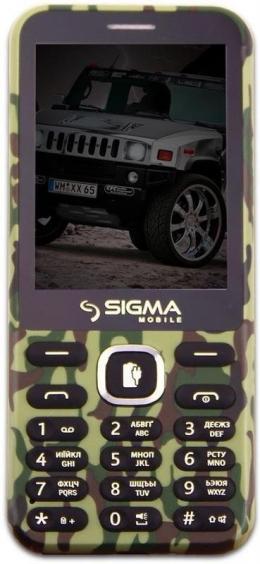 Мобільний телефон Sigma mobile X-Style 31 Power Khaki