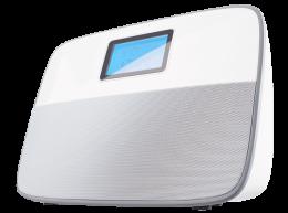 Радіо-годинник ECG R 300 U White