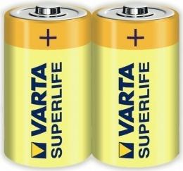 Батарейки Varta Superlife D (R20) 2шт.
