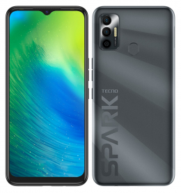 Смартфон Tecno Spark 7 KF6n NFC 4/64GB Magnet Black