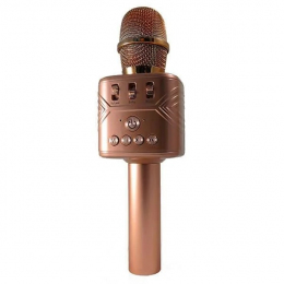 Безпровідний мікрофон караоке Handheld KTV MD-03 Bronze