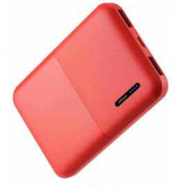 Внешний аккумулятор Florence T-WIN 5000mAh Red (FL-3001-R)