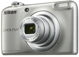 Фотоапарат Nikon Coolpix A10 Silver