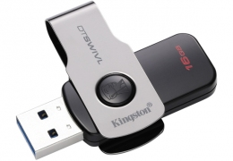 USB-флеш-накопичувач Kingston DT SWIVL 16GB USB3.1 (DTSWIVL/16GB)