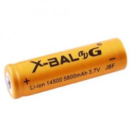 Акумулятор X-Balog 14500 (5800mAh) gold