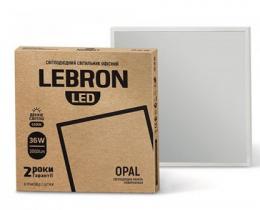 Светильник LED Lebron L-LPU-Opal-36W 6200K