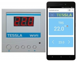 Терморегулятор Tessla TRSW WiFi