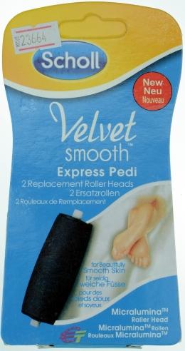 Насадка для роликової пилки Scholl Velvet Smooth