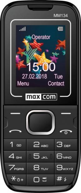 Мобильный телефон Maxcom Classic MM134 Black