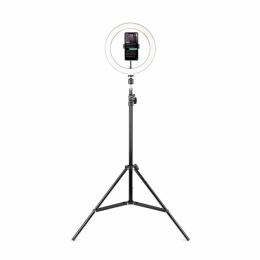 Набор 2в1 держатель для смартфонов + LED кольцо Havit HV-ST7012I