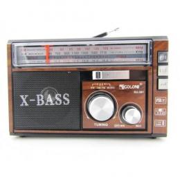 Радіо Golon RX-381 Brown
