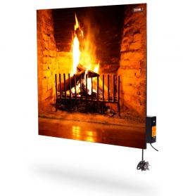 Обігрівач керамічний DIMOL Standart Plus 03 Drawing Fire