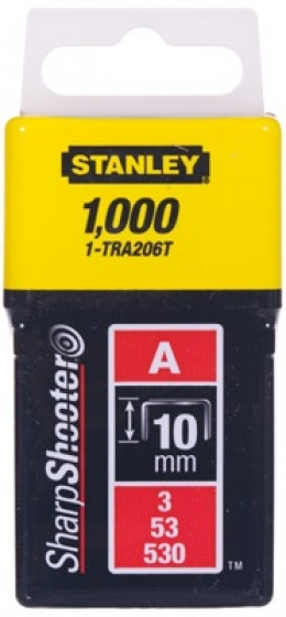 Скобы Stanley Light Duty 1-TRA206T