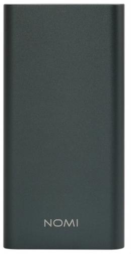 Зовнішній акумулятор Nomi E100 10000 mAh Grey