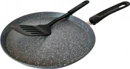 Сковорідка для млинців з лопаткою Bohmann BH-1010-28MRB