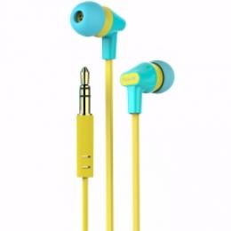 Гарнітура Havit HV-E29P blue/yellow