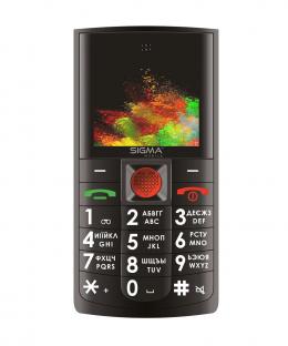 Мобільний телефон Sigma mobile Comfort 50 Solo Black