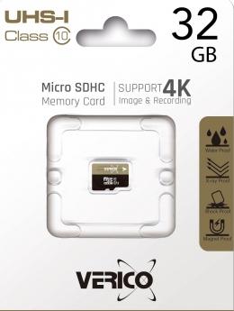 Карта пам'яті Verico MicroSDHC 32GB UHS-I Class 10 (1MCOV-MDH933-NN)