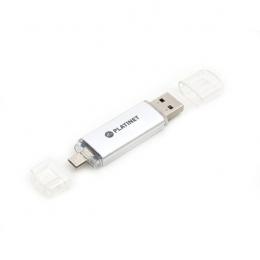 USB-флеш-накопичувач Platinet microUSB Plug PMFA16S