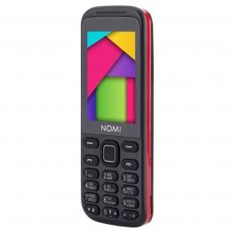 Мобільний телефон Nomi i244 Black-Red