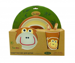 Набір дитячого посуду Con Brio CB-254