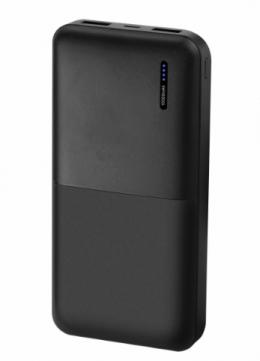 Внешний аккумулятор Florence T-WIN Li-Pol 10000mAh Black (FL-3021-K)
