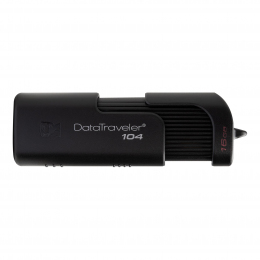 USB-флеш-накопичувач Kingston DataTraveler 104 USB 2.0 Black (DT104/32GB)