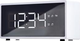 Радіо-годинник ECG RB 040 White