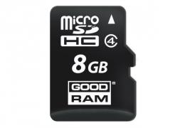 Карта пам'яті Goodram microSDHC 8GB class 4 (M400-0080R11)