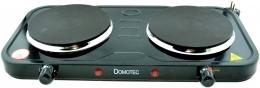 Електрична плитка Domotec DT-1012 Black