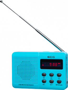 Радіо ECG R 155 U Blue