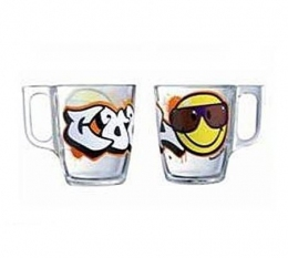 Набор чашок Luminarc Disney Smiley World Graffitty J1002