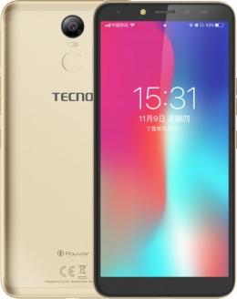 Смартфон Tecno Pouvoir 2 Pro (LA7 pro) Gold + подарунок