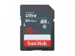 Карта памяти SanDisk 16 GB SDHC UHS-I Ultra SDSDUNS-016G-GN3IN
