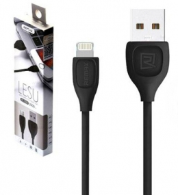 USB кабель Remax Lesu Lightning to USB RC-050i Black