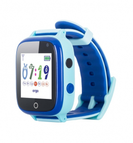 Детские часы с GPS трекером ERGO GPS Tracker Color Color C020 Blue