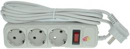 Мережевий фільтр Surge Protector SPG3W-B-10PP