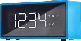 Радіо-годинник ECG RB 040 Blue