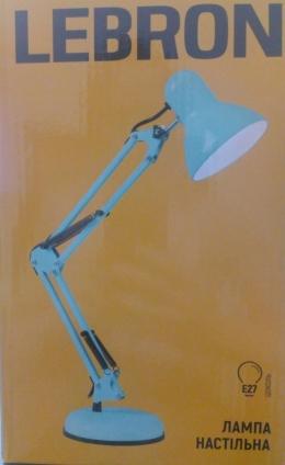 Лампа Lebron L-TL-Tel-E27-Turquoise