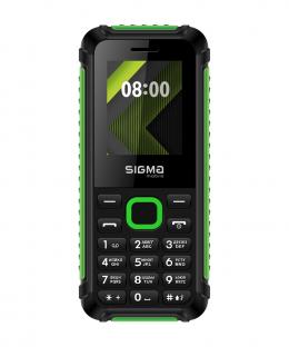 Мобильный телефон Sigma mobile X-style 18 TRACK Black-Green