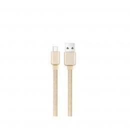USB кабель Cord Ace Type-C 1m 2A Champagne CDA-T1-2CH