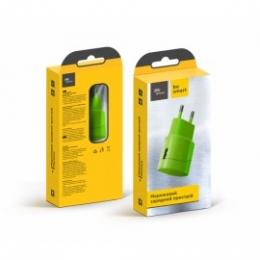 Зарядное устройство Florence Color 1USB 1A Lime green (FW-1U010L)