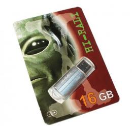 USB-флеш-накопитель Hi-Rali 16GB Corsair series Silver